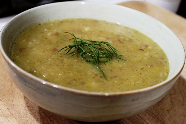 fennel soup1 thumb large Σούπα με μάραθο