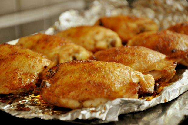 Окорок куриный в духовке в фольге рецепт